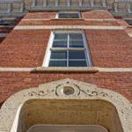 exterior renovation, Jail Hill Inn, Galena, Illinois