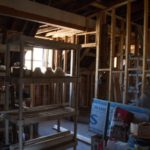 Renovation, rooms, framing, Jail Hill Inn, Galena, Illinois