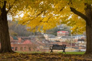 Fall Foliage at our Galena Bed and Breakfast