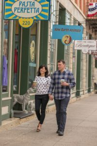 Shopping and Dining along Main Street on Galena's Helluva Half Mile