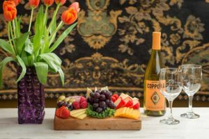 Wine tasting starts at our Galena Bed and Breakfast