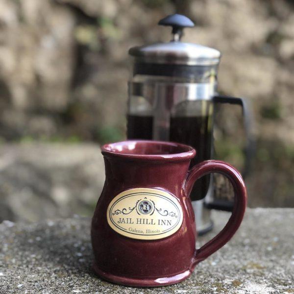 Jail Hill Inn Handmade Coffee Mug 2