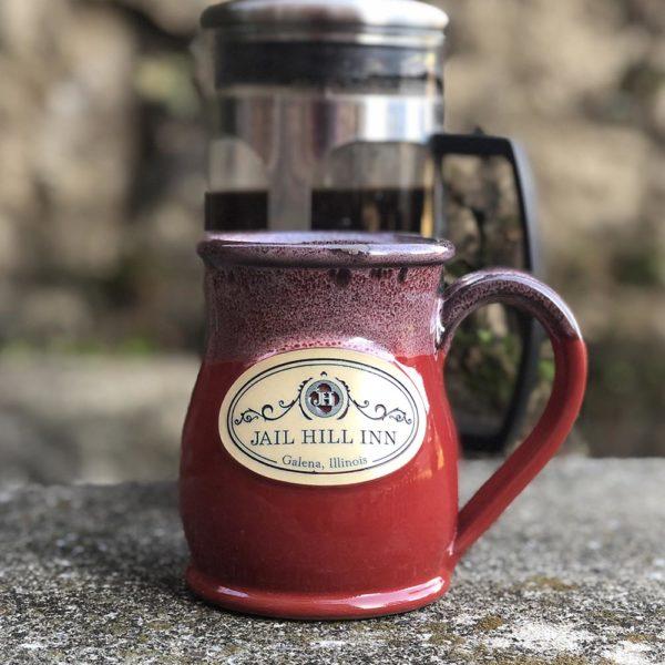 Jail Hill Inn Handmade Coffee Mug 1