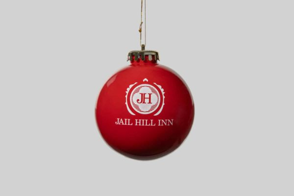 Jail Hill Red Christmas Ornament