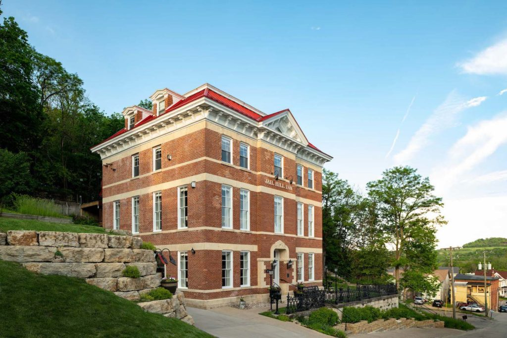 The stunning restoration of our historic Bed and Breakfast, located near top historic attractions in downtown Galena IL