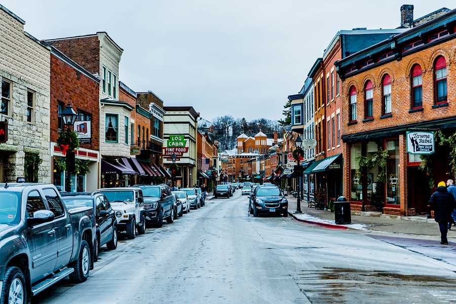 #1 Best Galena Bed and Breakfast and our Favorite Things to do in Galena This Winter