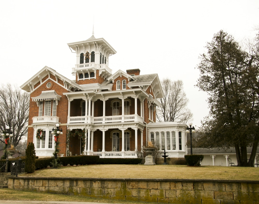 Visit the Belvedere Mansion, one of the top historic attractions in downtown Galena IL