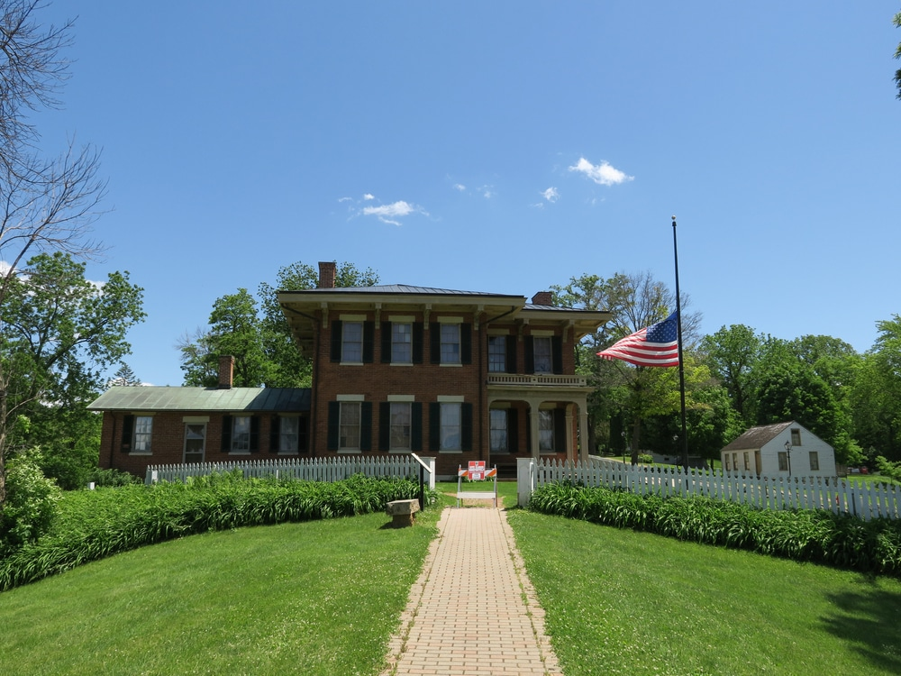 The U.S. Grant Home is one of the top historic attractions near downtown Galena IL
